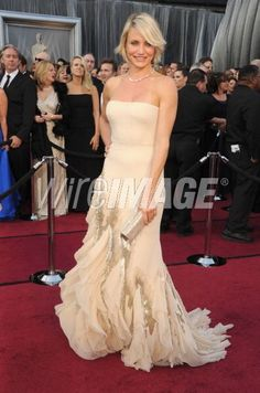 Cameron Diaz at the Oscars 84th Annual Academy Awards 2012 (Photo by Steve Granitz/WireImage)