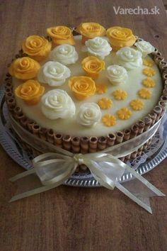 Orechovo-čokoládová torta (fotorecept)