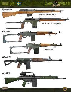 автоматическая винтовка GRAM 63