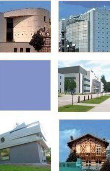 Ejemplos de proyectos reales realizados con KNX. Home Automation, Mansions, House Styles, Building, Outdoor Decor, Home Decor, Blue Prints, Decoration Home, Room Decor