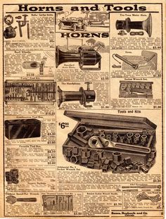 Model T Ford Forum: Circa. 1919 Sears Auto Parts catalog/leaflet (entire catalog) Auto Parts Catalog, Ford Models, Car Parts, Vintage Cars, Touring, City Photo, Vintage World Maps, Engineering, Ads