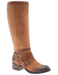 Wide Calf Theresa Leather Riding Boot by Lane Bryant | Lane Bryant