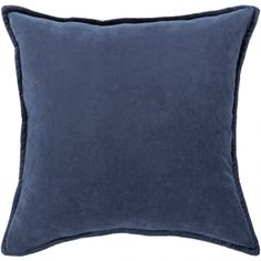 Surya Cotton Velvet Dark Blue x Pillow Kit at Lowe's. Our cotton velvet collection offers an enduring presentation of the modern form that will completely revitalize your decor space. The delicate velvet Navy Pillows, Velvet Pillows, Toss Pillows, Throw Pillow Covers, Decorative Throw Pillows, Decorative Accents, Accent Pillows, Modern Pillows, Couch Pillows