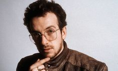 Elvis Costello in 1983 at the time of Pills and Soap. Photograph: Estate of Keith Morris/Redferns Studio Poses, Elvis Costello, Bob Dylan, Classic Rock, Old Photos, Pop Culture, Beautiful People, Singer, Pills