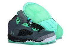 Jordan Shoes #Jordan #Shoes Air Jordan 5 Green Glow