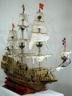 Sovereign of the Seas 1637 Modeller Gianluca De Agostini