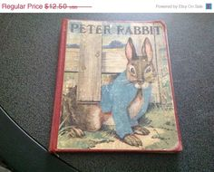 10% OFF Christmas Sale Vintage 1933 - The Tale of Peter Rabbit by Beatrix Potter on Etsy, $11.25