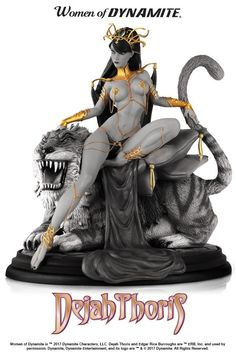 Dynamite Dejah Thoris Campbell Black & White Statue Misc Comic Book