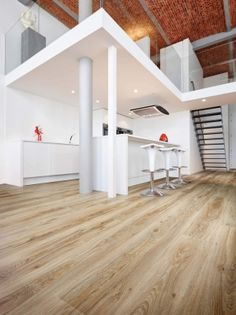 Blackjack Oak 22229 - Wood Effect Luxury Vinyl Flooring - Moduleo