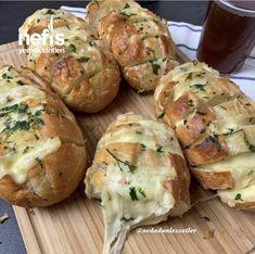 Sarımsaklı Ekmek - Nefis Yemek Tarifleri - #7166275 Baked Potato, Food And Drink, Potatoes, Baking, Ethnic Recipes, Potato, Bakken, Backen, Baked Potatoes