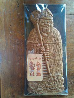 Sinterklaas speculaas - St Nicholas cookie - St Nikolaus spekulatius ( made by arts-et-sculpture - woodcarver)