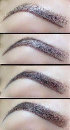 perfect-eyebrows-made-easy-with-semi-permanent-make-up - More Beautiful Me 1 Love Makeup, Makeup Inspo, Makeup Inspiration, Makeup Looks, Eyebrow Makeup Tips, Skin Makeup, Eyebrow Wax, Eyebrow Pencil, Makeup Eyebrows
