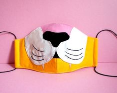 TIGER Face Mask - Anti Dust Mask Anti Pollution Haze Mask - Lion Mouth Cover - Cat Nose Mask - Cute Jungle Animal Cosplay Halloween Mask These handmade face masks / mouth masks are . Tiger Face Mask, Animal Face Mask, Nose Mask, Face Masks, Rabbit Nose, Bear Mask, Cat Nose, Mouth Mask, Diy Mask
