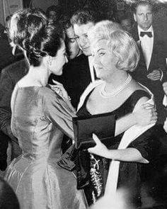 Mit Regine Crespin,1963