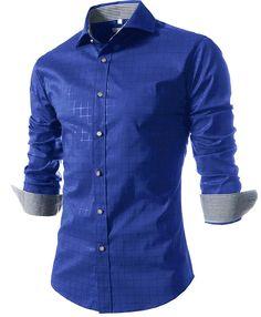 visita mi web www.isabeltarot.com #registrosAkashicos#tarot#moda#modelos#hombreslindos#men#oumo#hombres#estilo  #homme habille #FashionClasse #SlimFit  #costumepourHomme   #MensFashion #Dapper #Mens #Fashion #MensFashion #Clothes #Clothing Camisa Masculina azul Slim Fashion Men Shirt 2016 New Brand Casual Long-Sleeved