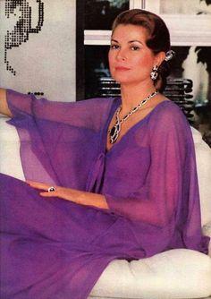 Princess Grace of Monaco, 1975.