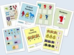 This eBook contains 7 printable file folder games. They make great independent tasks for children with autism or other special needs. They are created to go along with the book Brown Bear, Brown Bear, What Do You See? by Bill Martin Jr. These file folder games would also be appropriate for a kindergarten, 1st or 2nd grade math center.