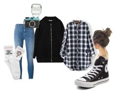 """""""15"""" by hermanrizek on Polyvore featuring Givenchy, J Brand, Converse and Yeah Bunny"""