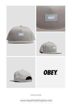 Obey Worldwide Snapback Elephant