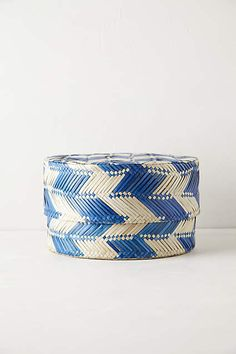 Woven Palms Basket - anthropologie.com