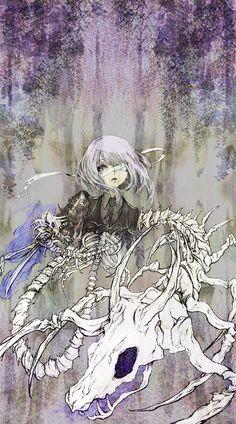 「骨と骨」/「謎」のイラスト [pixiv]