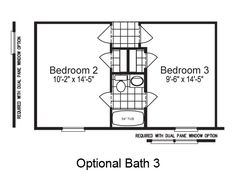 Dimensions for jack and jill bathrooms first floor plan - Jack and jill bathroom layout ...