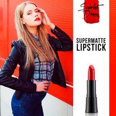 Start your day with Supermatte Lipstick! #makeup #lipstick #redlips #flormar