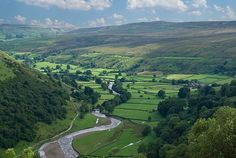Swaledale behind Muker by Bobrad on Flickr