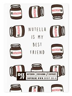 Nutella Notebook