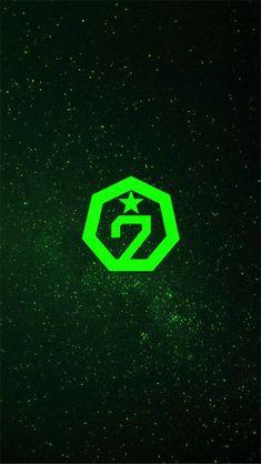 Girls Girls Girls, Got 7 Logo, Got7 Wallpaper, Got7 Aesthetic, Aesthetic Green, Kpop Backgrounds, Got7 Fanart, Wallpaper Aesthetic, Got7 Mark Tuan