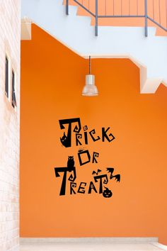 Trick or Treat  Halloween Decorations Trick by lillyloucreations, $19.95