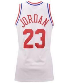 c3706c5afd5 Mitchell & Ness Men's Michael Jordan Chicago Bulls 1991 Nba All Star  Authentic Jersey - White M