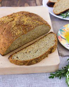 The Best Gluten-Free, Whole-Grain, Crusty Bread {Dairy-Free, Egg-Free, Gum-Free} | Meaningful Eats