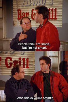 George Costanza - Jerry Seinfeld