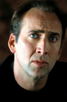 """Nicolas Cage. Born 1/7/1964. I've always had a crush on him, since """"Moonstruck."""" Love his quirkiness."""