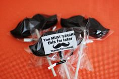 mustache party supplies | Hubby's 30th Birthday Mustache Bash | Beantown Baker