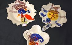 Wall Buttons by Birds at Noon. American Made. See the designer's work at the 2016 American Made Show, Washington DC. January 15-17, 2016. americanmadeshow.com #americanmade, #americanmadeshow, #ceramic, #pottery, #button