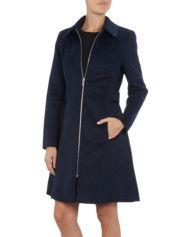 Mantel mit Umlegekragen