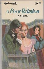 A Poor Relation Ann Hulme Masquerade Historical Romance #26 paperback good cond