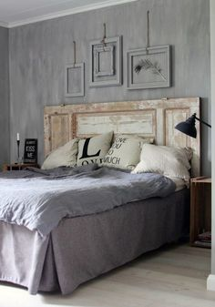 Headboard - recycle -diy