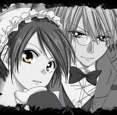 Usui and Misaki by Hiro Best Love Stories, Love Story, Best Romantic Comedy Anime, Usui, Kaichou Wa Maid Sama, Cute Anime Couples, Me Me Me Anime, Anime Art, Kawaii