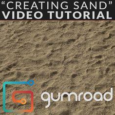 """""""Creating Sand"""", Joshua Lynch on ArtStation at https://www.artstation.com/artwork/3rNRm?utm_campaign=digest&utm_medium=email&utm_source=email_digest_mailer"""
