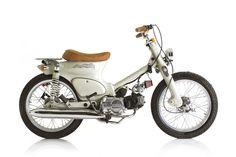 Honda by Deus Bali Motorcycle Travel, Moto Bike, Motorcycle Design, Motorcycle Style, Bike Bmw, Motorcycle Quotes, Honda Cub, Custom Motorcycles, Custom Bikes