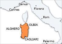 Ferien in Sardinien: Hotels, Ferienhäuser, Apartments, Villas, Last Minute, Mietwagen, Segelcharter, Flüge, Golf, B&B, Aktivurlaub in Sardin...