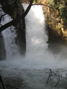Banias Waterfall in Israel