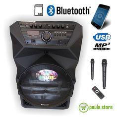 """Meirende KS-15 Φορητό Ηχείο 15"""" Audio Speakers, Online Shopping, Bluetooth, Usb, Net Shopping"""