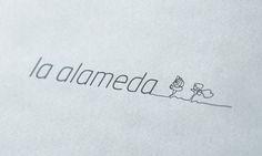"""Diseño de imagen corporativa, papelería y página web para """"La Alameda - consultores y administradores"""" http://www.laalamedagestion.es/"""