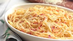 Spaghetti Carbonara Chef Recipes, Copycat Recipes, Pasta Recipes, Italian Recipes, Recipies, Cooking Recipes, Yummy Yummy, Yummy Food, Gordon Ramsey