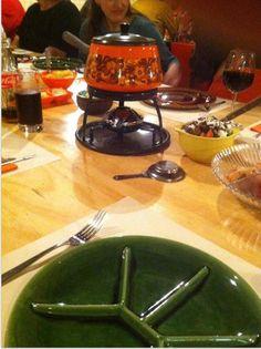 Die grünen Teller haben meine Eltern au...