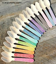 Eco wooden spoons